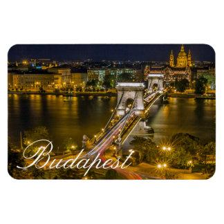 Puente de cadena Budapest, Hungría de Széchenyi Imán Flexible