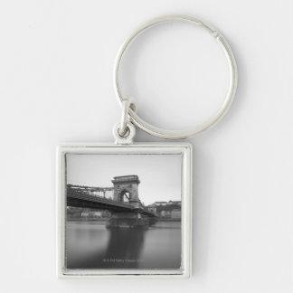 Puente de cadena y Danubio de Szechenyi Llavero Personalizado