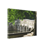 Puente de Chambord Impresiones De Lienzo