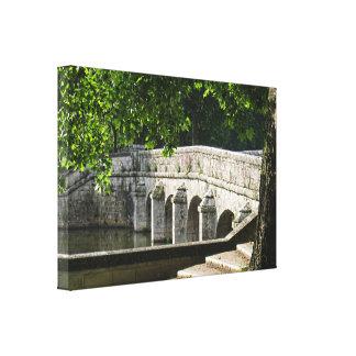 Puente de Chambord Lona Estirada Galerías