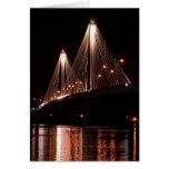 Puente de Clark, Alton, Illinois Tarjeta De Felicitación