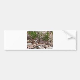 Puente de colgante etiqueta de parachoque