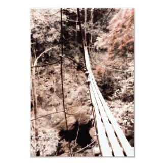 """puente de colgante invitación 3.5"""" x 5"""""""