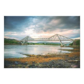 Puente de Connell y las caídas de Lora Fotografía