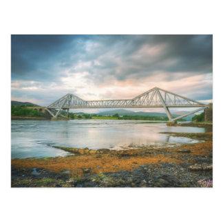 Puente de Connell y las caídas de Lora Tarjeta Postal