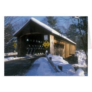 Puente de Coombs Winchester Tarjeta De Felicitación