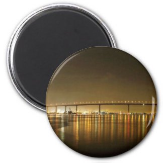 Puente de Coronado visto del aterrizaje del transb Imán Redondo 5 Cm