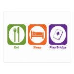 Puente de Eat Sleep Play Postales