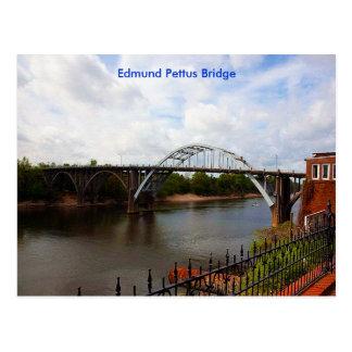 Puente de Edmund Pettus en Selma, Alabama Postales