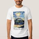 Puente de Edmund Pettus, Selma Alabama, resplandor Polera
