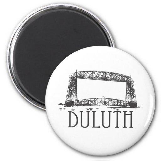 Puente de elevación aéreo de Duluth Iman Para Frigorífico