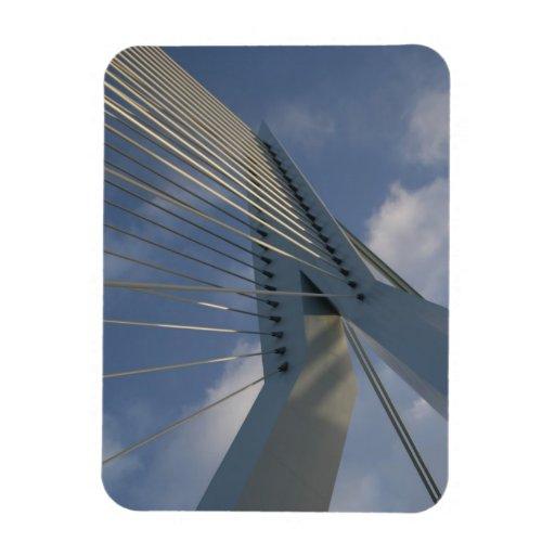 Puente de Erasmus, Rotterdam Imanes Rectangulares