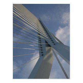 Puente de Erasmus, Rotterdam Tarjeta Postal