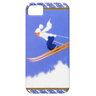 Puente de esquí iPhone 5 funda