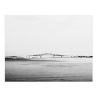 Puente de Francis Scott Key Tarjeta Postal