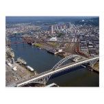 Puente de Fremont en Portland Oregon Postal