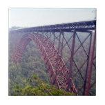 Puente de garganta de nuevo río tejas  cerámicas