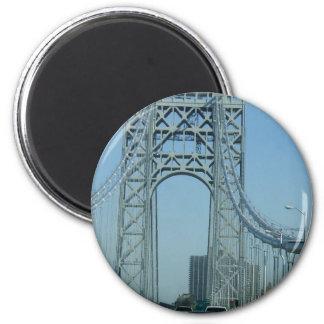 Puente de George Washington Imán Redondo 5 Cm