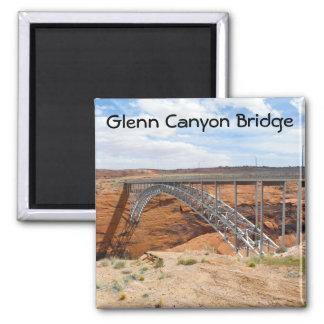 Puente de Glen Canyon Imán Cuadrado