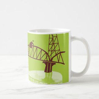 Puente de Hawthorne, taza de café de PDX