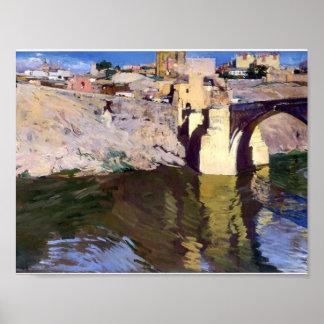 Puente de Joaquín Sorolla- San Martin en Toledo Posters