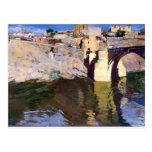 Puente de Joaquín Sorolla- San Martin en Toledo Postal