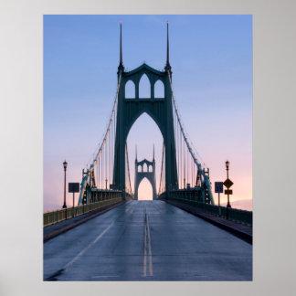 Puente de Johns del santo Posters