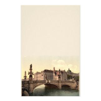 Puente de Kaiser Wilhelms, Berlín, Alemania Papeleria