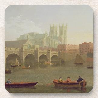 Puente de la abadía de Westminster y de Westminste Posavasos De Bebidas