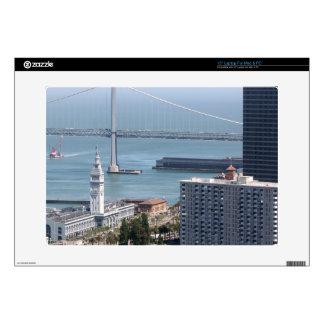 Puente de la bahía calcomanía para 38,1cm portátil