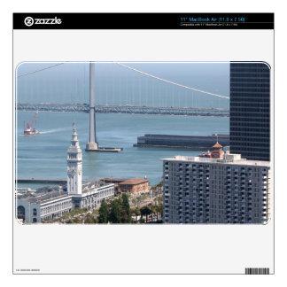 Puente de la bahía calcomanía para el MacBook