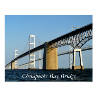 Puente de la bahía de Chesapeake Postal