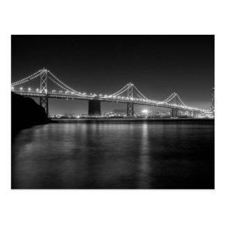 Puente de la bahía de San Francisco - de Oakland Tarjetas Postales