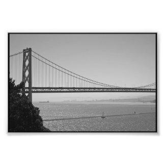 Puente de la bahía fotografías