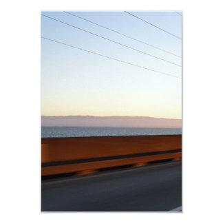 """Puente de la bahía invitación 3.5"""" x 5"""""""