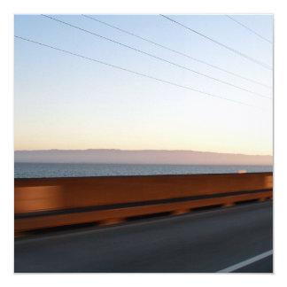 """Puente de la bahía invitación 5.25"""" x 5.25"""""""