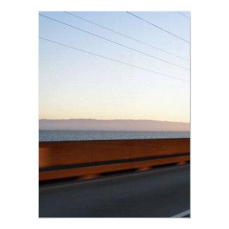 """Puente de la bahía invitación 5.5"""" x 7.5"""""""