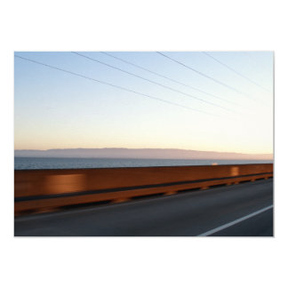 """Puente de la bahía invitación 5"""" x 7"""""""