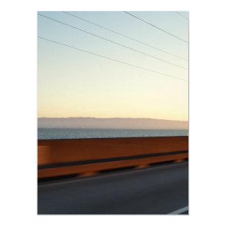"""Puente de la bahía invitación 6.5"""" x 8.75"""""""