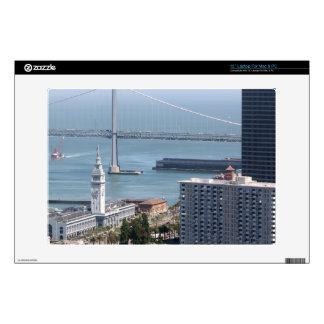 Puente de la bahía skins para 33cm portátil