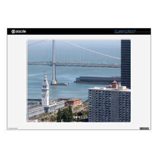 Puente de la bahía skins para 35,6cm portátil