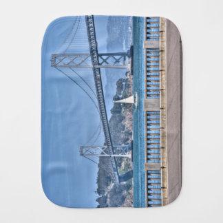 Puente de la bahía paños para bebé