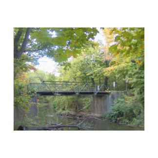 Puente de la cala de la nutria impresion en lona