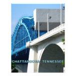 PUENTE de la CALLE DE MERCADO - Chattanooga, TN Membrete