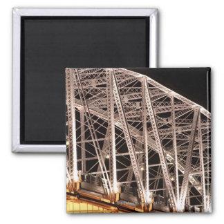 Puente de la calle de Shelby, Nashville, Tennessee Imán Cuadrado