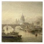 Puente de la catedral y de Londres de San Pablo de Azulejo Cerámica