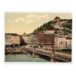 Puente de la ciudad, convento y Kapuzinerberg, Sal Postales