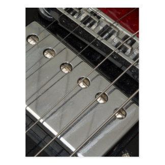 Puente de la guitarra eléctrica, secuencias tarjetas postales