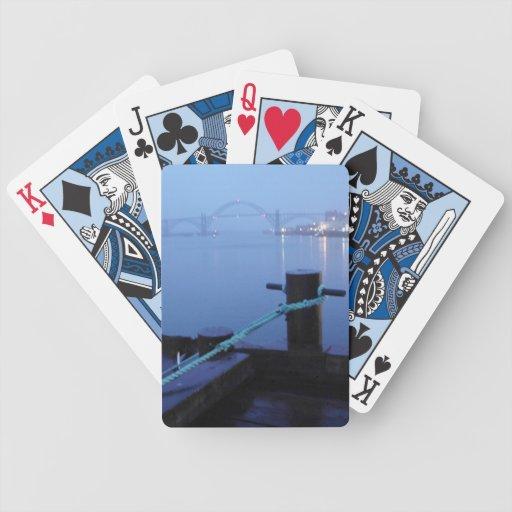Puente de la noche baraja cartas de poker
