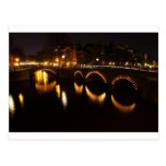 Puente de la noche tarjetas postales